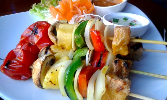 Satay Vegetables