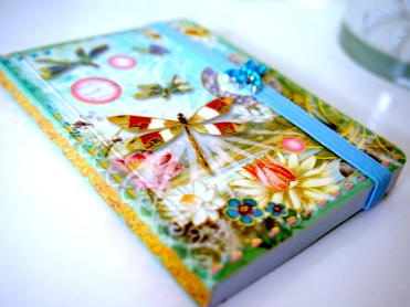 This pretty mini notebook was a gift I received a couple of years ago and don't want to spoil it by writing in it lol!