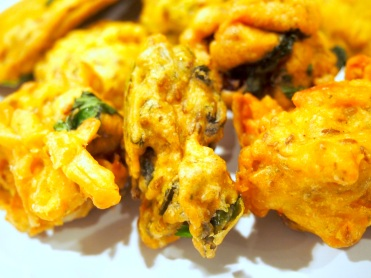 Love the spinach pakora