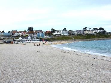 Cornwall Falmouth Gyllyngvase beach area DSCN0265