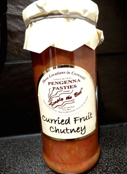 Bought home a jar of this very wholesome looking chutney!