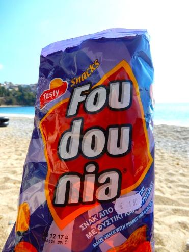 A new one: nut flavour crisps