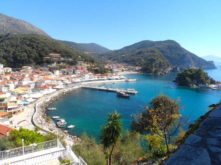 View from the castel Parga Greece Epirus SAM_1902