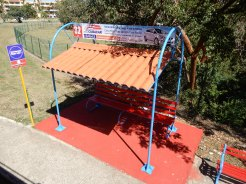 Cuba Varadero open top bus DSCN3715