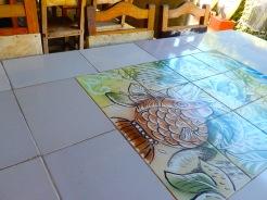Cuba Jovellanos farm table tiles art DSCN3597