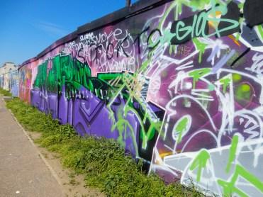 South End On Sea Southend Essex Eastern Esplanade Graffiti street art DSCN5314