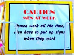 South End On Sea Southend Essex men women work caution DSCN5564
