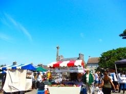 St David_s cathedral city Pembrokeshire Wales UK market DSCN7217