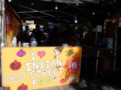 Vegetarian Indian street food