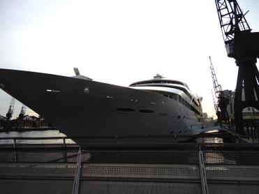 ExCel waterfront Hotel Yatch DSCN8122