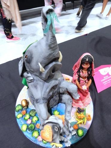 The Cake and Bake Show London art DSCN8072